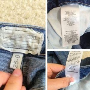 Current/Elliott Jeans - Current/Elliot the flip flop raw hem flared jeans